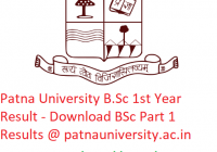 Patna University B.Sc 1st Year Result 2019 - Download BSc Part 1 Exam Results @www.patnauniversity.ac.in