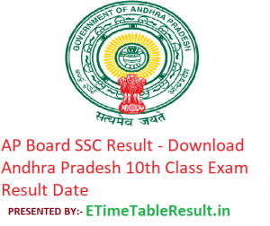AP SSC Result 2019 - Download Andhra Pradesh Board 10th Class Result Date