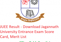 JUEE Result 2019 - Download Jagannath University Entrance Exam Scorecard, Merit List