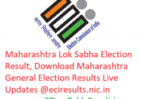 Maharashtra Lok Sabha Elections Result 2019, Download Maharashtra General Elections Results Live Updates @eciresults.nic.in