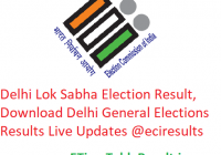 Delhi Lok Sabha Elections Result 2019, Download Delhi General Election Results Live @eciresults.nic.in