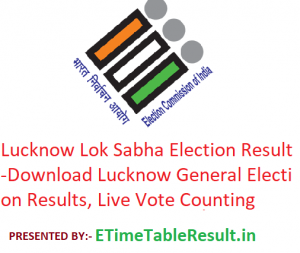 Lucknow Lok Sabha Election Result 2019 - Download Lucknow General Elections Results, Live Vote Counting