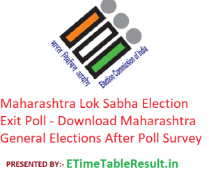 Maharashtra Lok Sabha Elections 2019 Exit Poll - Download Maharashtra General Election After Polls Survey