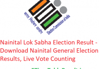 Nainital Lok Sabha Election Result 2019 - Download Nainital General Elections Results, Live Vote Counting