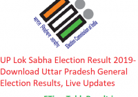 UP Lok Sabha Election Result 2019 - Download Uttar Pradesh General Elections Results, Live Updates