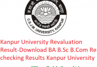 Kanpur University Revaluation Result 2019 - Download BA B.Sc B.Com Rechecking Results 1st-2nd-3rd Year CSJMU